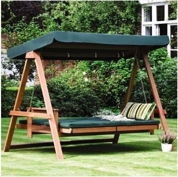 Baharu Wooden Garden Furniture-swing/bed/hammock/bench/chair/seat ...