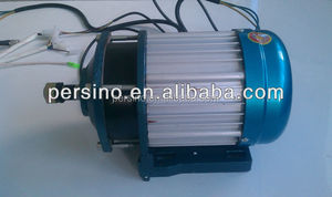 high power high speed 60v 2000w electric tricycle /e-car DC brushless reduction gear motor