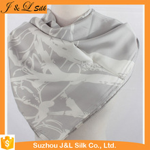 Wholesale High Quality Screen Silk Scarf Printing