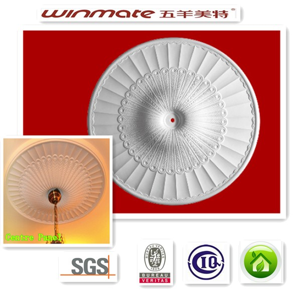 ceiling roses/ central panel fiber galss moulds