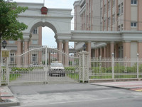 2016 home/garden wrought iron gates pictures design HL-I-G-058