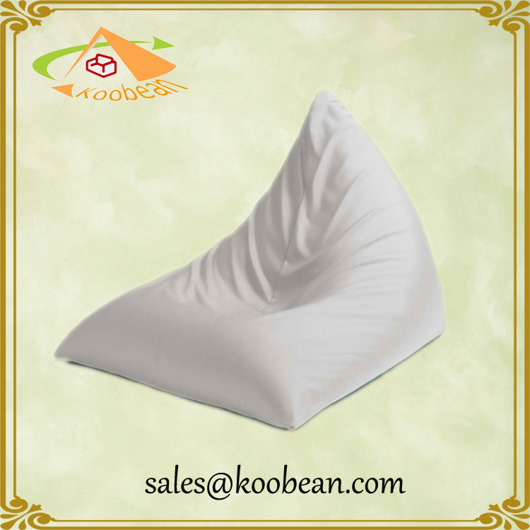 Outdoor Used Triangle Bean Bag with Footstool