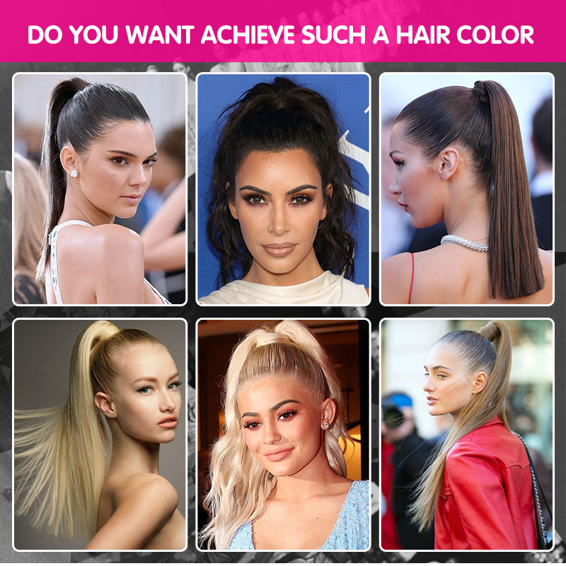 """60g 16 """"100% non trasformati indiano remi vergine dei capelli umani del tessuto dei capelli coulisse coda di cavallo"""