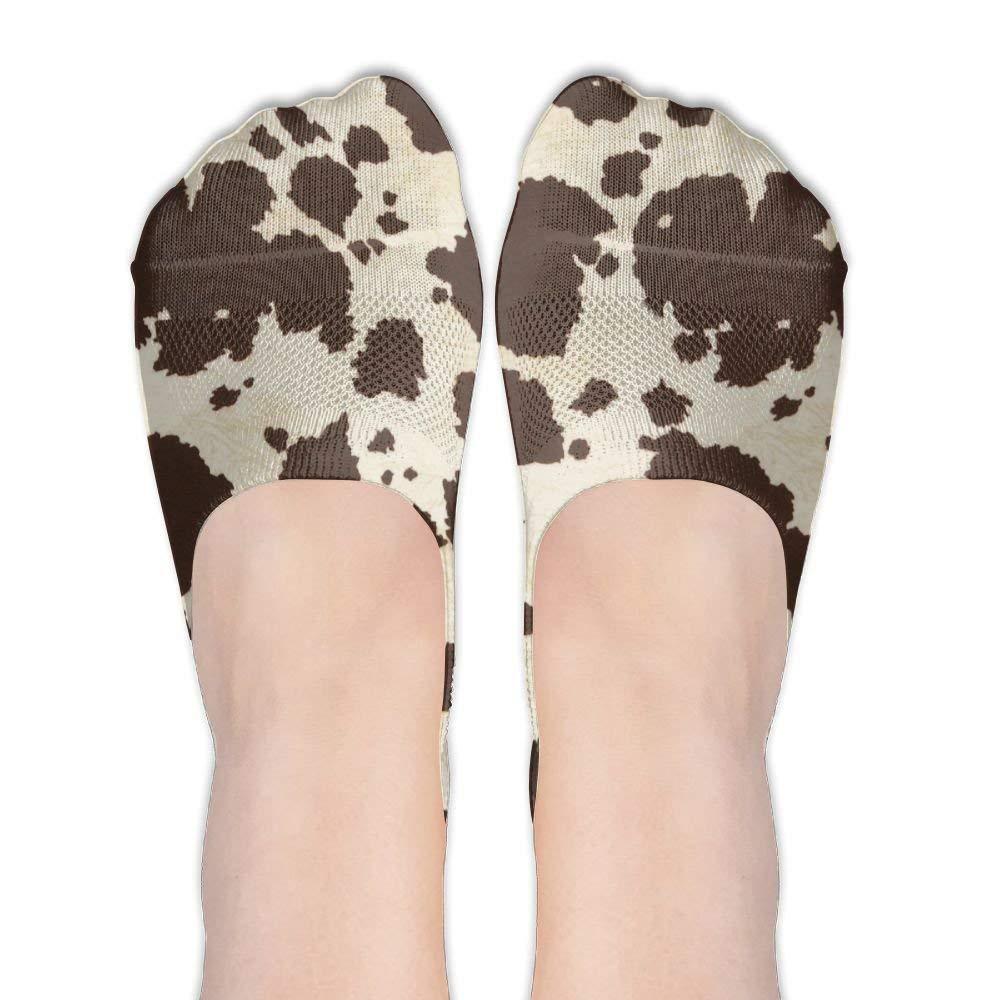 872876b4f51dc Get Quotations · Big Cow Female Polyester Cotton Socks Women Boat Socks  Thin Casual Socks Low Cut Socks