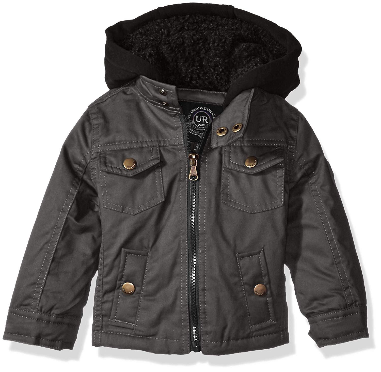 Urban Republic Baby Boys' Infant Peached Cotton Jacket