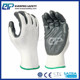 Polyester/Nylon Breathable Protection Keep Hand Safe Nitrile Gloves