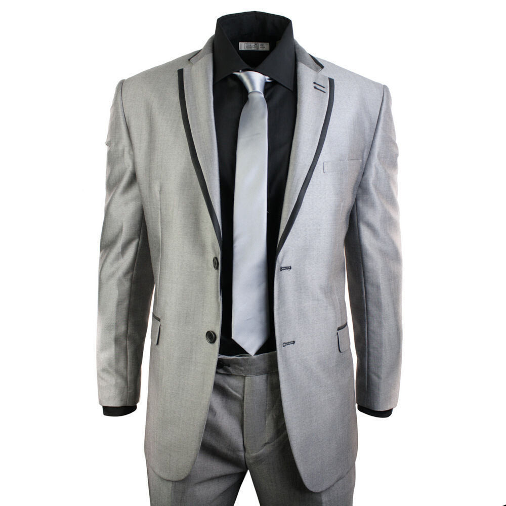 Cheap Black Suit Grey Tie, find Black Suit Grey Tie deals on line ...