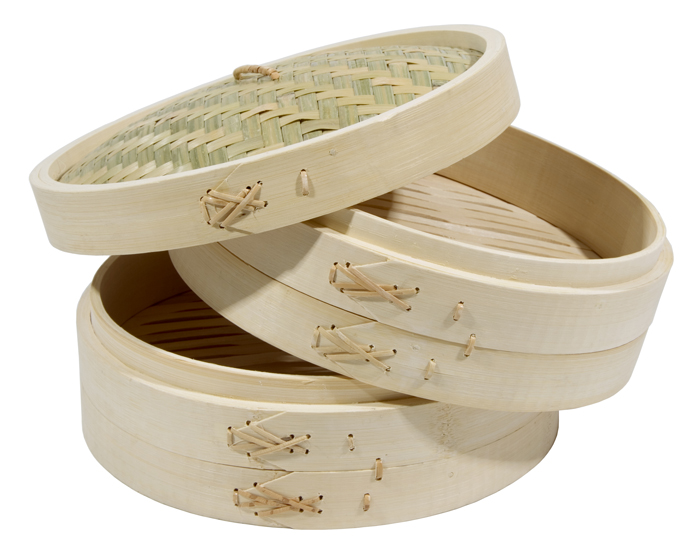 Natural bamboo portable optima steamer prices