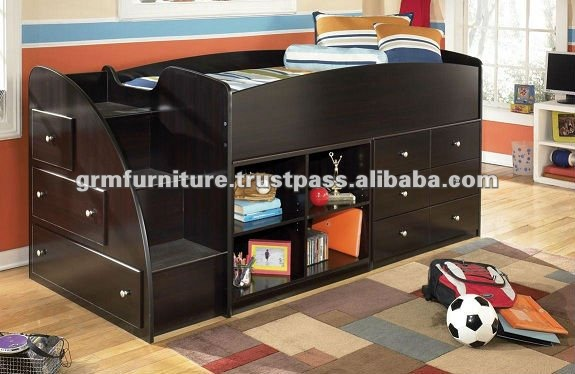 Adjustable Portable Kids Bed, Kids Bunk Bed, Kids Bedroom Bed