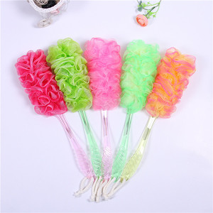 Promotional SPA Essential Colorful exfoliating bath body brush