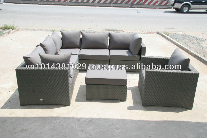beautiful barato al aire libre muebles de mimbre sof de la rota conjunto buy product on alibabacom with conjunto de jardin baratos - Sofas De Jardin Baratos