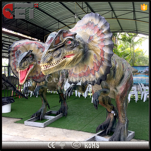 Cet-A-62 dinosaur games high quality amusement park animatronic dinosaurs