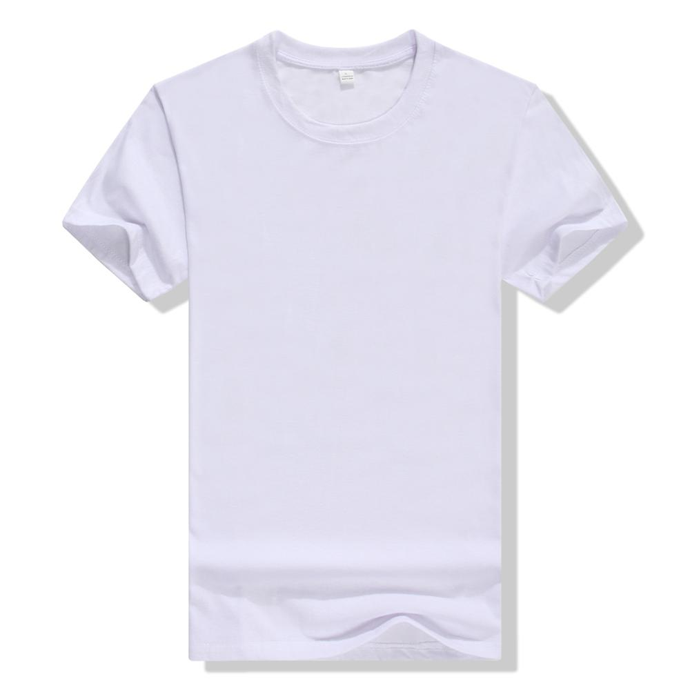 adult O-neck Short Sleeve White polyester Sublimation T <strong>shirt</strong> Blanks Wholesale Advertising Custom Design t <strong>shirt</strong>