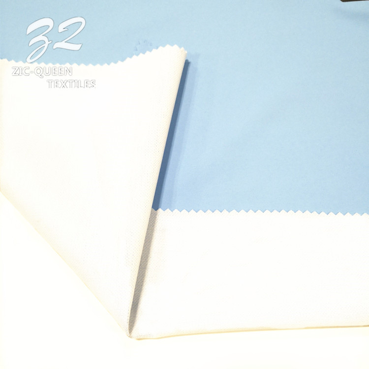 Customized 100% Polyester 260T F/D Pongee Bonded Fabric
