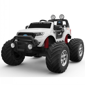 2019 New Licensed Ford Ranger Monster Truck 2.4G Remote Control Four motors car kids electric ride on