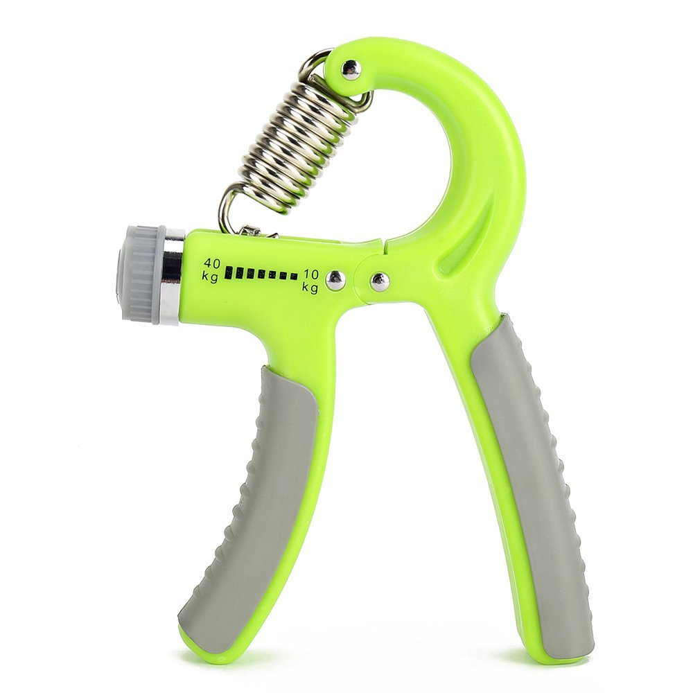 Gotaout Adjustable Green R Shape Hand Grip Strengtheners