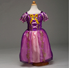 Rapunzel From Tangled Costume Cosplay Girl Child Dress Princess TC001