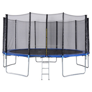 15ft trampoline tent big round trampoline kids jumping bed for hot sale