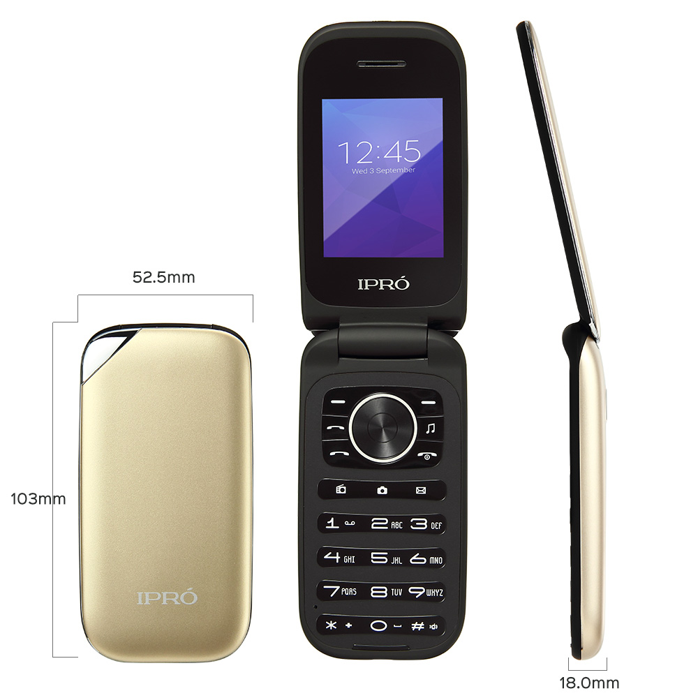 Hot sale flip type quad band 2.4 inch screen cheap feature mobile phone small mobile phone mini mobile phone