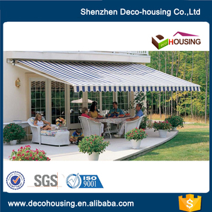 Hot Sale sunshade best choice remote control detachable outdoor awning easy install