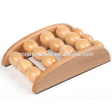 Reflexology Tool wooden foot Acupressure Roller Massager
