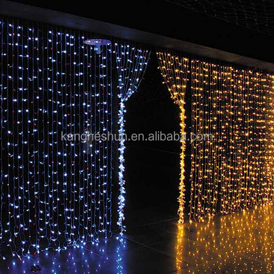 Connectable Copper Wire LED Decorative Lights Curtain Light