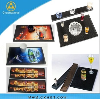 Factory Supplier sublimation printing soft pvc bar runner
