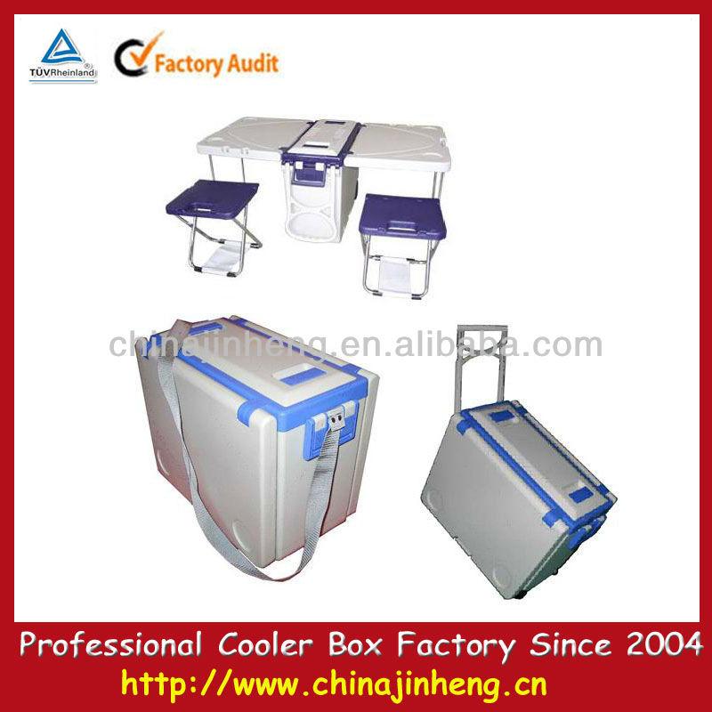 Plegable RefrigeradorMultifuncional Caja Nevera Mesa Del VSzMqpU
