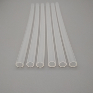 milk white nylon tubing 10mm od 1mm thick semi rigid nylon tube nylon tube protector