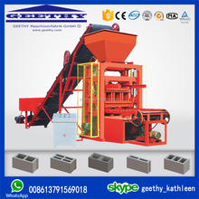 QTJ4-26C price concrete block machine small scale industries machines