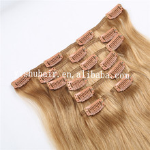 Highlight single Claw ponytail Easy human hair clip in extensions