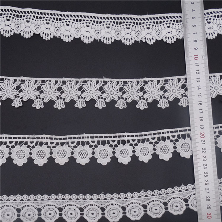 free sample, customized design 3/3.5/4.0/cm Lace Trim Off White for Dress