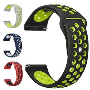 20 22 MM silicone Strap For Samsung Gear sport S2 S3 Classic Frontier watch Band huami amazfit pace Bip BIT Lite Huawei Watch 2