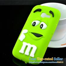 For Samsung Galaxy Star Pro 7262 S7262 GT-S7262 Case M&M'S Chocolate Candy Silicone Rubber Cases Covers Phone Case