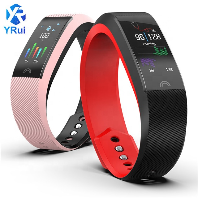 2018 Double color strap Remote camera Support Smart Bracelet Watch Blood pressure monitor Calorie Pedometer фото