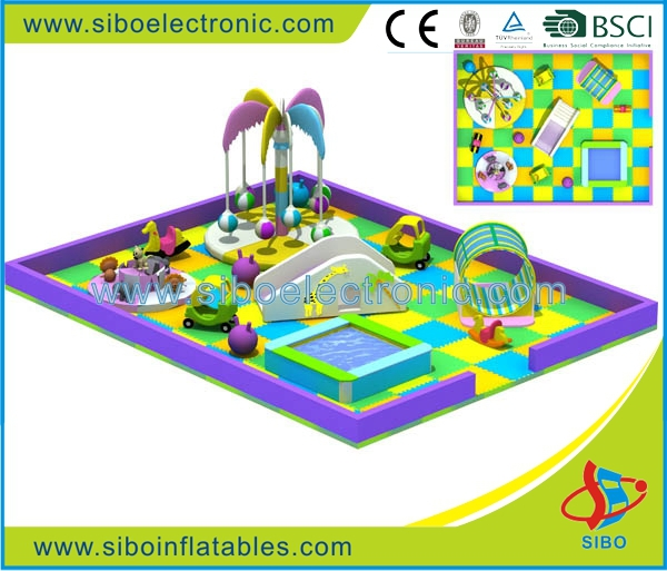 GM0 SIBO CE certificated soft play zone indoor kids playground