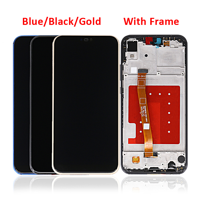 LCD For Huawei P20 Lite Display Touch Screen with Frame For Huawei Nova 3e with Light Sensor фото
