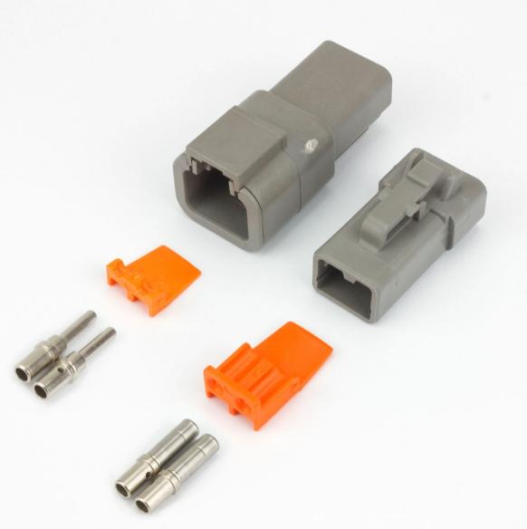 2 Way Deutsch Connector Female Multi Listing Full Plug Kit DT Series Male