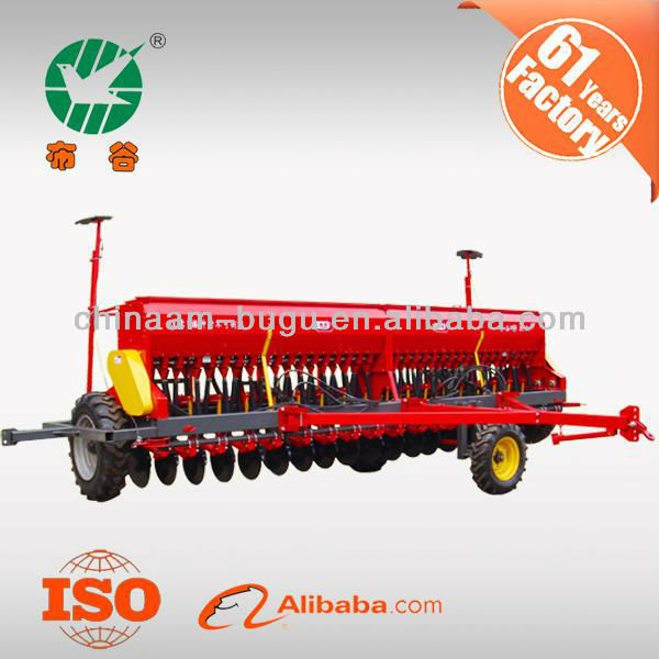 2BFY-24 seeding machine/hydraulic grain drill fertilizer with ISO certificate