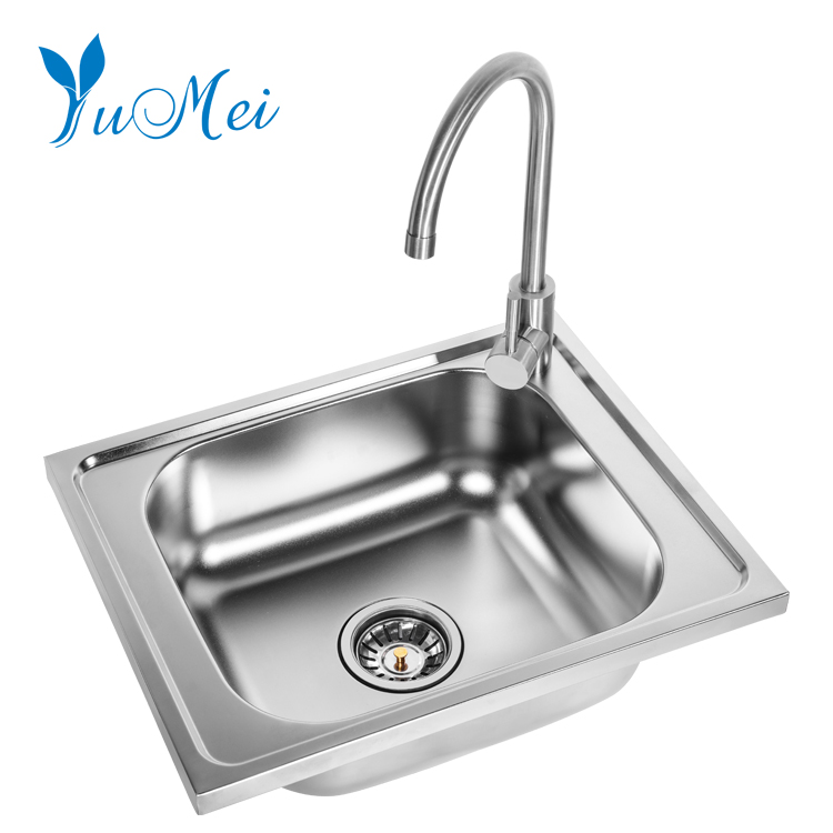 Stainless Steel Kitchen Sink With Two Drainers