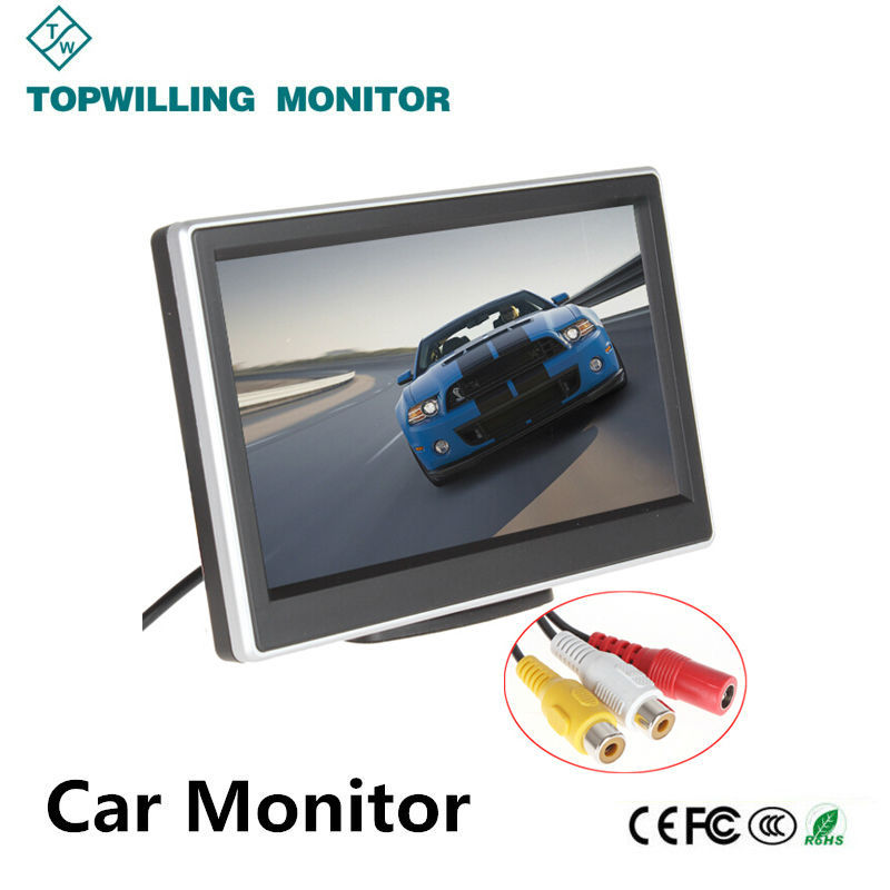 Cheap Price 5 inch LCD Monitor/Car Headrest Monitor 12 volt for car