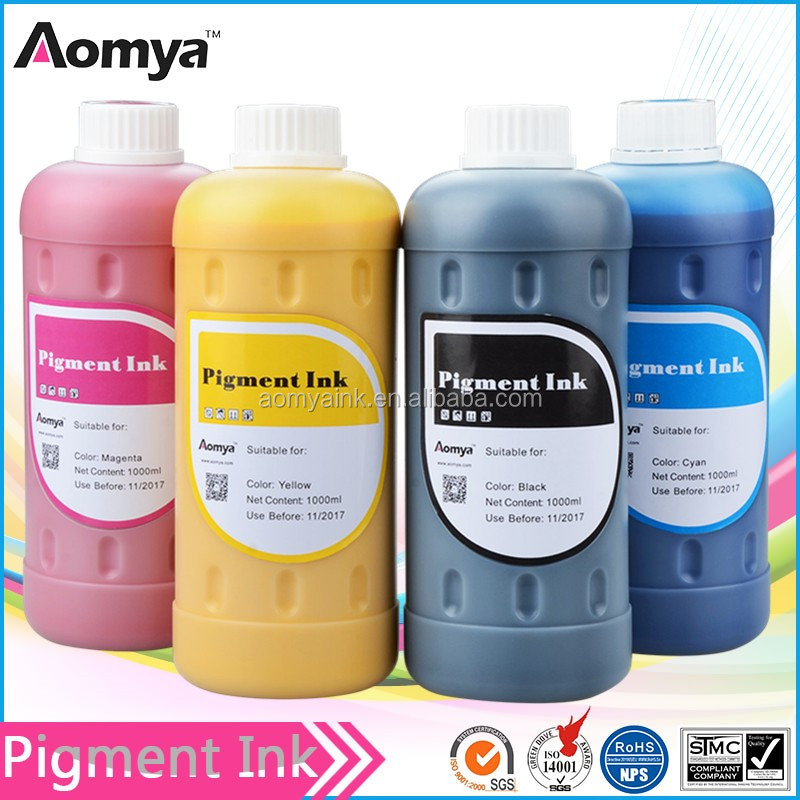 Aomya micro pigment ink for Epson /Canon/ HP cartridge ink for novajet 750 printhead