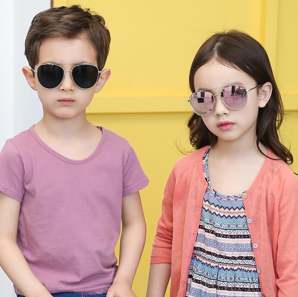M251 High Quality Colorful Kids Baby Children Sunglass Sweety Yellow Mirror Kid's Sun Glass фото