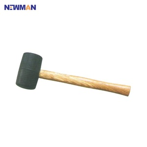wooden handle sledge rubber mallet hammer