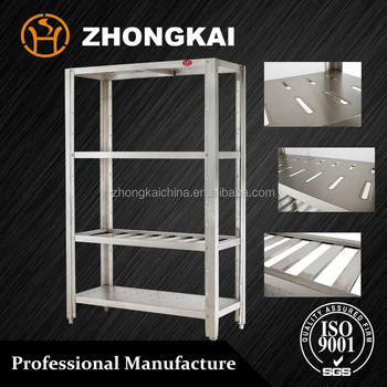 Restaurant Kitchen Storage restaurant furniture stainless steel kitchen storage shelf / rack