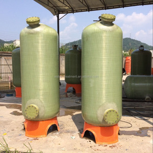 for waste water recycling used sand filter tank/FRP pressure tank