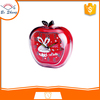 2017Bosheng: (GH639) Crystal apple shape clock music desl clock light alarm clock