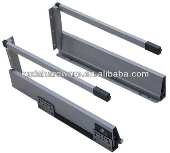 Softglide Double Wall Metal Drawer Buy With Square Gallery Self Closing Slide Self Closing Slide Product On Alibaba Com