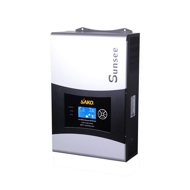 Onduleur onde Pure hibrido 3/kVA 24/V R/égulateur 50/A Chargeur 30/A 2400/W