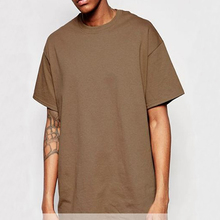 2017 Hip Hop Tall Tees Off The Shoulder T Shirt Oversized